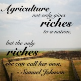 Agriculture's Role. Wordless Wednesday